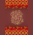 lettering invitation on checkered background vector image