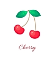 Red cherry icon