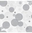 Silver Grey Circles Dots Seamless Pattern vector image vector image
