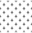 uneven triangular road sign pattern vector image vector image