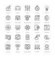 web design and development icons 10 vector image