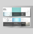 minimal layout modern covers design vector image vector image