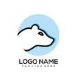 modern animal logo and icon vector image