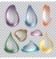 Pure Clear Realistic color vector image vector image
