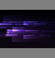 purple overlap pixel speed abstract background vector image vector image