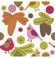 vintage screenprint nature vector image vector image