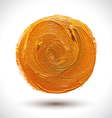 Abstract Orange Shape vector image