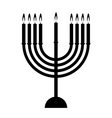 Chanukah icon vector image