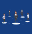 company community concept business people dream vector image