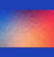 flat abstract gradient background with grunge vector image vector image