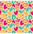 fun seamless vintage love heart background