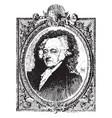 john adams vintage vector image vector image