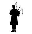 Scottish Piper vector image vector image