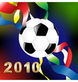 2010 World Cup vector image vector image