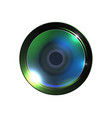 realistic high quality photo video lens vector image vector image