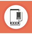 Smartphone design technology icon online concept vector image vector image