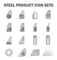 Steel product vector image vector image