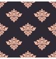 Vintage damask style seamless pattern vector image