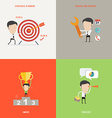 Element of businessconcept icon in flat design vector image