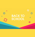 Abstract back to school design