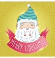 Cute Cartoon Chinese Santa Claus vector image vector image