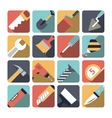 Home Repair Tools Icons vector image vector image