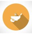 Hot Food Icon vector image
