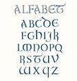 Lombardic Alphabet