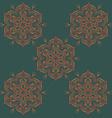 Mandala Ornamental Design Pattern vector image vector image