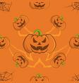 pattern 0084 halloween vector image vector image