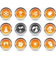 Seasons icons vector image
