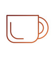 coffee cup beverage fresh aroma symbol vector image