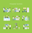 hospital scenes and services