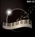 music planeta vector image vector image