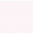 pink halftone with dots pattern on white vector image vector image