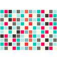 Retro Web Design Seamless Tiles - Mosaic Square vector image vector image