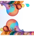 Abstract colored background EPS10 vector image vector image
