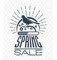 black sale singing bird vector image vector image