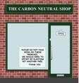 Carbon neutral shop