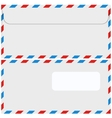 modern envelope or mail set vector image vector image