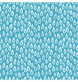 seamless pattern of raindrops vector image