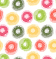 seamless watercolor dots pattern vector image vector image