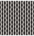 Wavy Ripple Lines Seamless Black and White