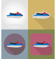 transport flat icons 62 vector image