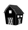 farm barn building vector image