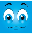 Funny emoticon cartoon design vector image vector image