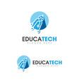 pen education template icon vector image