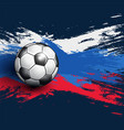 soccer championship 2018 abstract backgrounds vector image vector image
