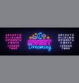 sweet dreaming neon sign sweet dreaming vector image