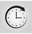 Time icon Time and watch timer symbol UI Web vector image vector image